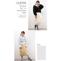 大きいサイズ レディース ツイルタイトスカート|clette-online|07