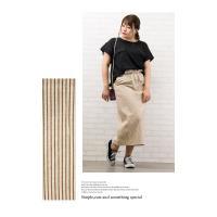 大きいサイズ レディース ヒッコリータイトスカート|clette-online|07