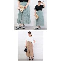 大きいサイズ レディース 花柄マーメイドスカート clette-online 06
