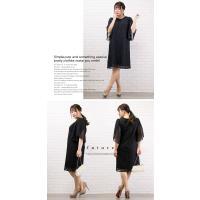 大きいサイズ レディース Aラインレースワンピースドレス|clette-online|05