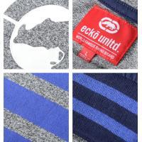 ECKO UNLTD エコーアンリミテッド ロンT ロングTシャツ 長袖 BOXサイロゴ ブルーライン (ER316-K17) セール