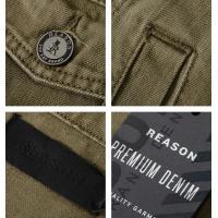 REASON リーズン デニムジャケット ダブルフラップポケット (Q8-11) セール