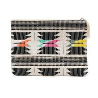 RHC Ron Herman(ロンハーマン)  NATIVE CLUTCH BAG (クラッチバッグ)  BLACK 277-002283-011+【新品】(グッズ)