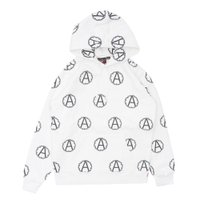 SUPREME(シュプリーム)  x UNDERCOVER(アンダーカバー)  Anarchy Hooded Sweatshirt (スウェットパーカー)  WHITE 209-000455-040+【新品】(SWT/HOODY)