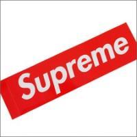 SUPREME(シュプリーム) Box Logo Sticker[ボックスロゴステッカー] 【新品】RED 290-000699-013