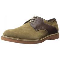 ■商品詳細 Mixed-media saddle shoe with contrast panels...