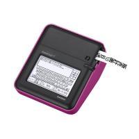 ■タッチパネル式のバックライト付きモノクロ液晶を採用。手書きでメモを入力できるほか、カレンダー機能や...