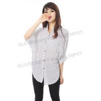 欲しいシャツが必ず見つかる ドルマンスリーブ シャツ 春夏 肌ざわりの良いモタール レーヨン 生地 レディース レディス 半袖 7分丈 ブラウス シャツ