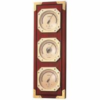 送料無料!  【商品概要】  ◆気圧計  ◆温度計  ◆湿度計  ●サイズ:約422×142×40m...