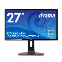 iiyama イイヤマ モニター ディスプレイ XUB2790HS-B2  ノングレア ( 27インチ / フルHD / AH-IPS / HDMI,D-sub,DVI-D / 昇降 / ピボット / 3年保証 )