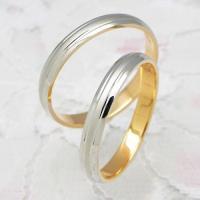 ◆地金:プラチナ900/K18ピンクゴールド ◆リング幅:約3.0mm ◆展開サイズ:3〜22号 ○...
