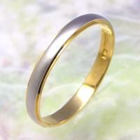 ◆地金:プラチナ900/K18ゴールド ◆リング幅:約2.5mm ◆展開サイズ:23〜28号 ○受注...
