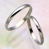◆地金:プラチナ900 ◆使用石 P354Dのみ:ダイヤモンド(0.01ct) ◆リング幅 P354...