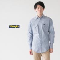 Wrangler ラングラー T/Cシャンブレー ウエスタンシャツ