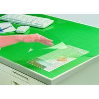 ●マット外寸法:600×450mm●下敷色:グリーン●薄くても捺印のしやすさや筆記性は抜群です。●下...