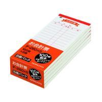 【仕様】●サイズ:縦150×横66mm●紙質:上質紙●注文単位:1パック(100枚×5冊)