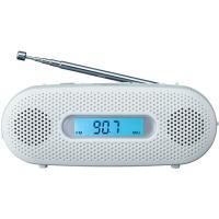 【仕様】AMラジオ番組がFM放送で聴ける ワイドFM(FM補完放送)対応。高さ54.4mmとコンパク...