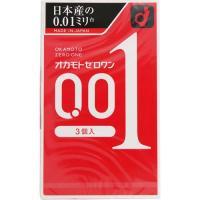 日本産の0.01ミリ台オカモト史上最薄。均一なうすさ0.01ミリ台(当社測定による)の水系ポリウレタ...