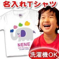 名入れTシャツ!ベビー&キッズにぴったり! 1歳半から12歳くらいまでのサイズ80〜150まで対応!...