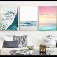 お部屋を涼し気な雰囲気にしてくれるポスター。 お部屋ごとに飾って統一感を出したりまとめて飾るのもオス...
