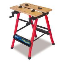 <特長> ●軽量・コンパクトで持ち運びに便利な作業台です ●折り畳むことができるため、収納時に場所を...
