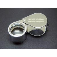 良く使われている一般的な10倍ルーペです。レンズ径も18mmあり観察に適しています。革ケース付 ●サ...