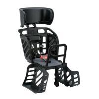 OGK(オージーケー):ヘッドレスト付リヤキッズシート ブラック RBC-009DX3