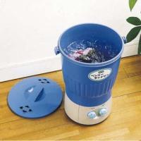【送料無料:沖縄・離島除く】  少量でも手軽にお洗濯できるバケツ型の小型洗濯機です。 ペット用衣類、...