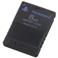 (PS2)PlayStation 2専用メモリーカード(8MB)ブラック(管理:1146)