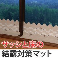 幅広タイプのため窓ガラスからサッシ、床までカバーでき、結露の多いキッチンでも対応できます。窓枠からの...