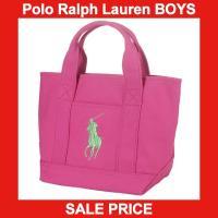 ■アイテム説明 【Polo Ralph Lauren】ビッグポニー 刺繍 キャンバス トートバッグ ...