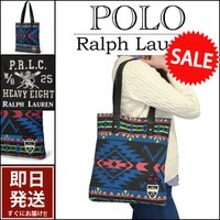 ■アイテム説明 【Polo Ralph Lauren】POLO エンブレム 刺繍 ネイティブ柄 トー...