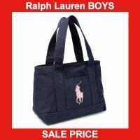 ■アイテム説明 【Polo Ralph Lauren】ビッグポニー 刺繍 キャンバス トートバッグ【...