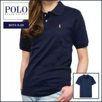 ■アイテム説明 【Polo Ralph Lauren BOYS】ポニー刺繍 ピーマ コットン 半袖 ...