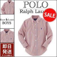 ■アイテム説明 【Polo Ralph Lauren BOYS】 ポニー刺繍 タッタソール チェック...