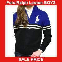 ■アイテム説明 【Polo Ralph Lauren BOYS】 ビッグポニー 刺繍 ボーダー フル...