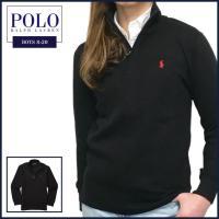 ■アイテム説明 【Polo Ralph Lauren BOYS】 ポニー刺繍 コットン ブレンド ハ...