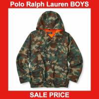 ■アイテム説明 【Polo Ralph Lauren BOYS】 カモ柄 ミリタリー フード フルジ...