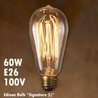 【スペック】 バルブデザイン:シグネイチャー(L) 60W E26 サイズ:直径6.3×H14.2c...