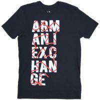 【新品 本物】A/X メンズ半袖Tシャツ ・後ろ襟ぐりにロゴプリントあり ・素材: コットン100%...