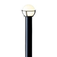 東芝ライテック LEDガーデンライト ランプ別売 灯具:LEDG88911+ポール:LPD80410(K)
