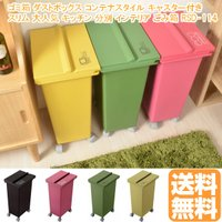 キッチンやキッチンカウンターの周りなどに置いてもおしゃれでスリムなゴミ箱です。  ゴミ箱,ダストボッ...
