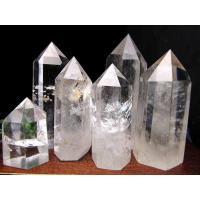 天然透明 水晶ポイント 六角柱 20グラム-30グラム 極上超透明 手ごろな小さめサイズ 大人気浄化アイテムブラジル産