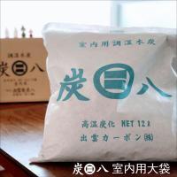 炭八 除湿剤 消臭 におい カビ 対策 調湿 押入 収納 室内用 大袋 1袋 出雲 炭はち