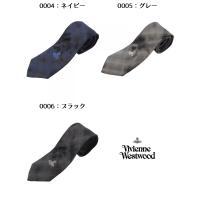 【品名】 VIVIENNE WESTWOOD ヴィヴィアンウエストウッド ネクタイ  【素材】 シル...
