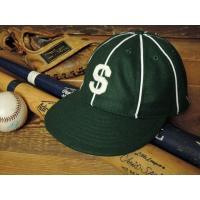EBBETS FIELD 8-PANEL BASEBALL CAP [1910 Seattle Giants] / エベッツフィールド フランネルズ フランネルズ 8パネル ベースボールキャップ [アメリカ製]
