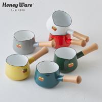 ハニーウェア(Honey Ware)のソリッドシリーズのミルクパン。使いやすさをとことん追求したムダ...