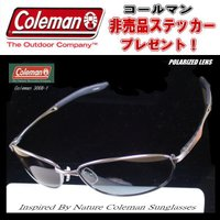 【販売量日本一】Coleman コールマン 偏光サングラス Co3008 ( 3008-1 3008-2 3008-3)非売品ステッカープレゼント