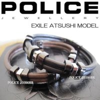 ▼ POLICE ブレスレット 20390BSB01(BK) 20390BSC03(BR) ▼ 材質...