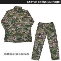 マルチカムのOCP迷彩服上下セットです。  <商品特徴> 襟・袖はベルクロテープ式 / ジャケットの...